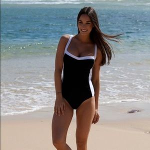 Jets Classic Banded One Piece